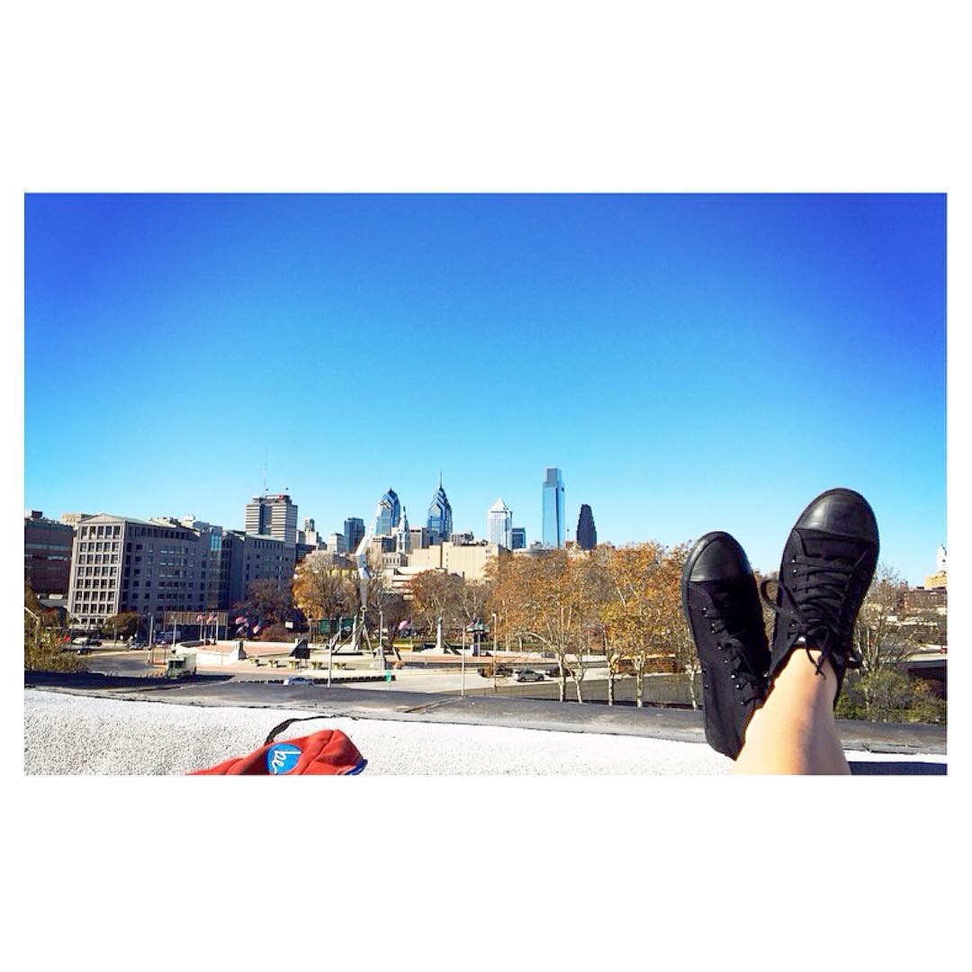 City of Brotherly Love ❤️ Thanks Caroline K. for sending in this snap of the #KotaHightop in Philly ✌