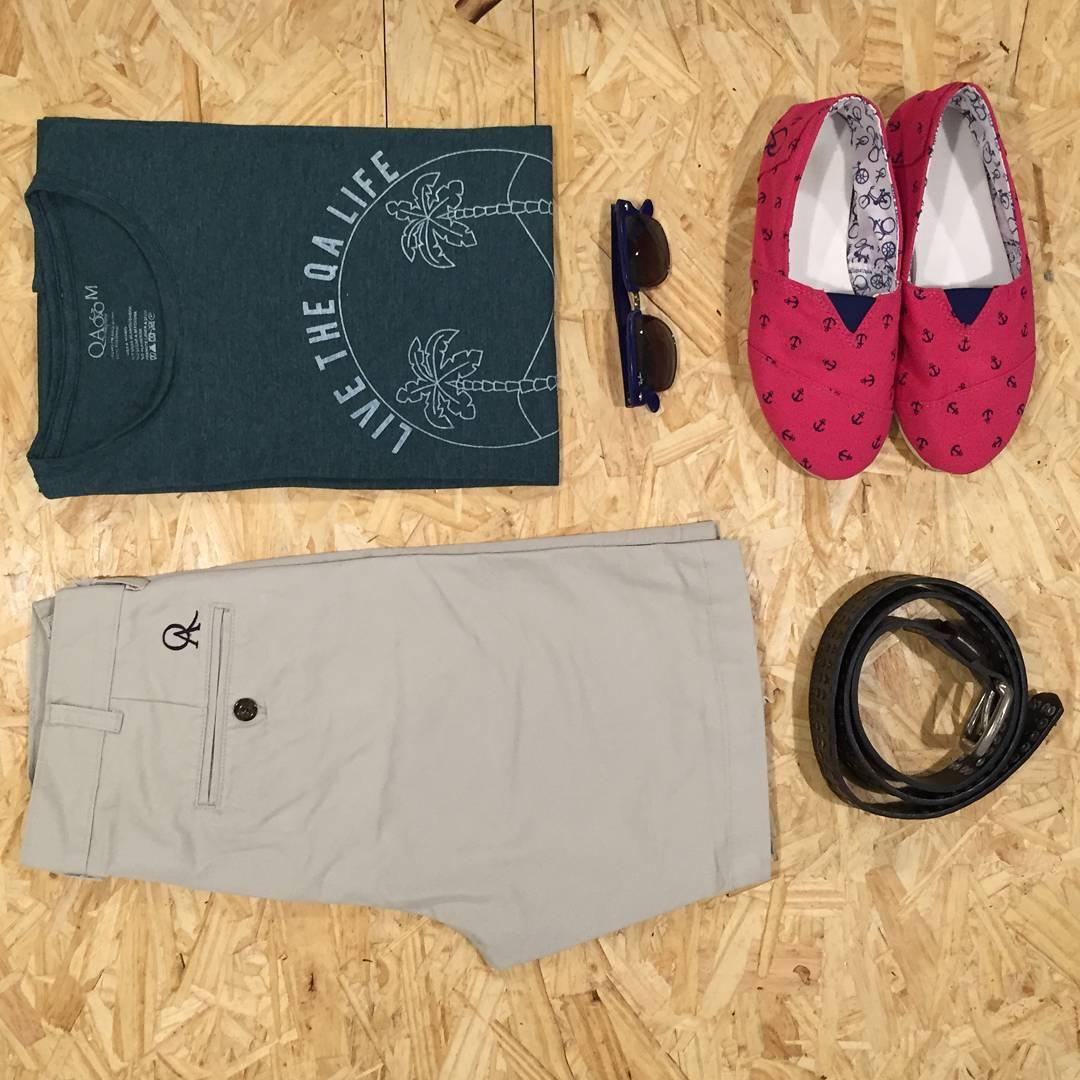 Sunny outfit: bermuda + remera + alpargatas #fashion #style #outfit  QA.com. ar