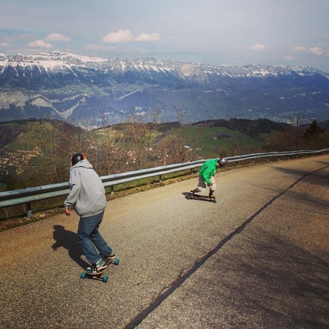 Shralp the Alps #Freebord