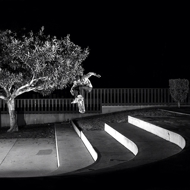 Rad background shot by @lukeshootsphotos in #issue30 #steezmagazine of @mikeebrown #360shuv #skateboarding