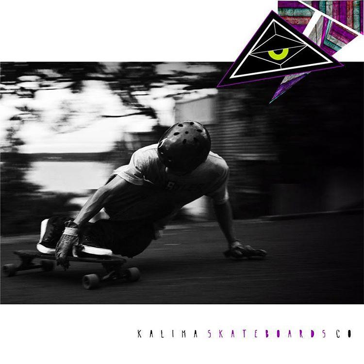 Kalima Freeride Rider Ejem Black #freeride #longboard