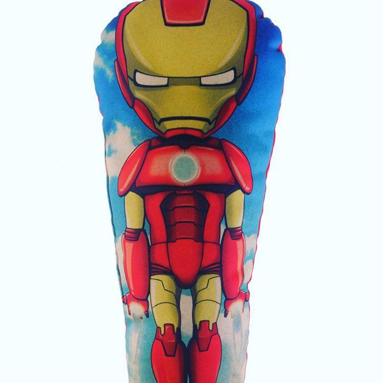 Hoy junto a los peregrinos, Iron Man! #superheroes #ironman #regalosoriginales