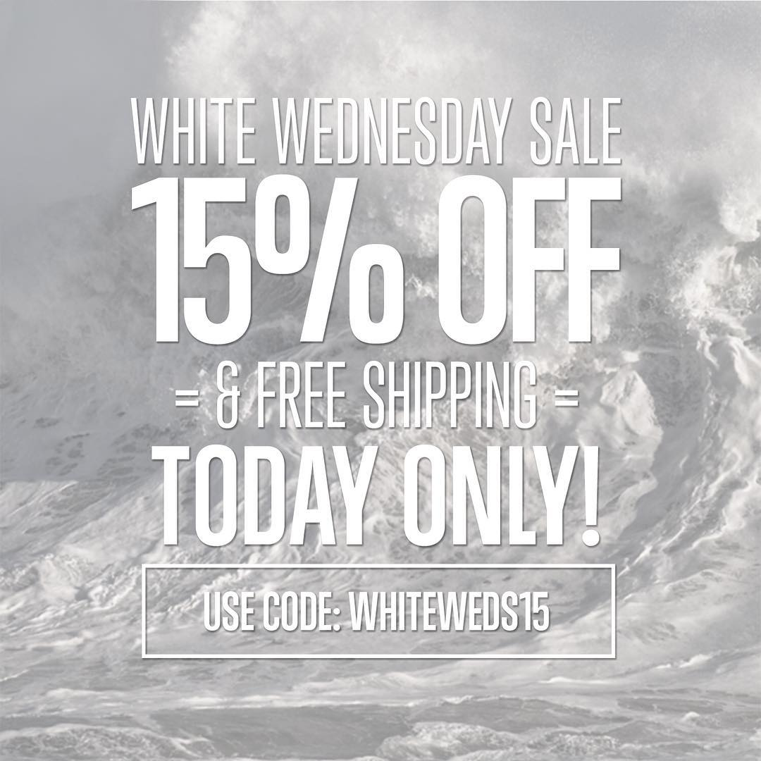 "Hey you turkeys!! We decided to give you a head start on the great deals this week! Head over to www.hovenvision.com and use promo code ""WHITEWEDS15"" for 15% off and free shipping on everything!! #whitewednesday #blackfriday #cybermonday"