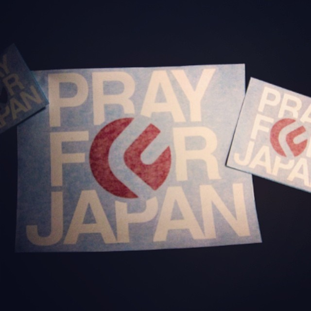 3 years after the quake, we continue to #PrayforJapan #JibforJapan. To our #FluxFamily in #Japan, we send our upmost respect and best wishes. @fluxbindings_jp