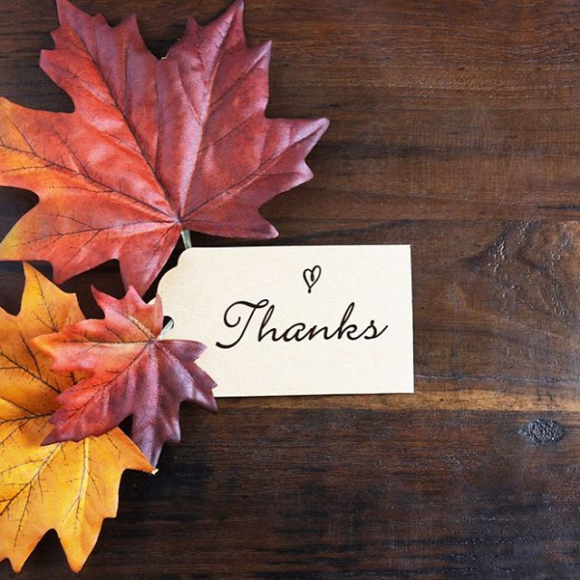 So much to be thankful for this year- we are especially thankful for all of you!  From our family to yours, Happy Thanksgiving !