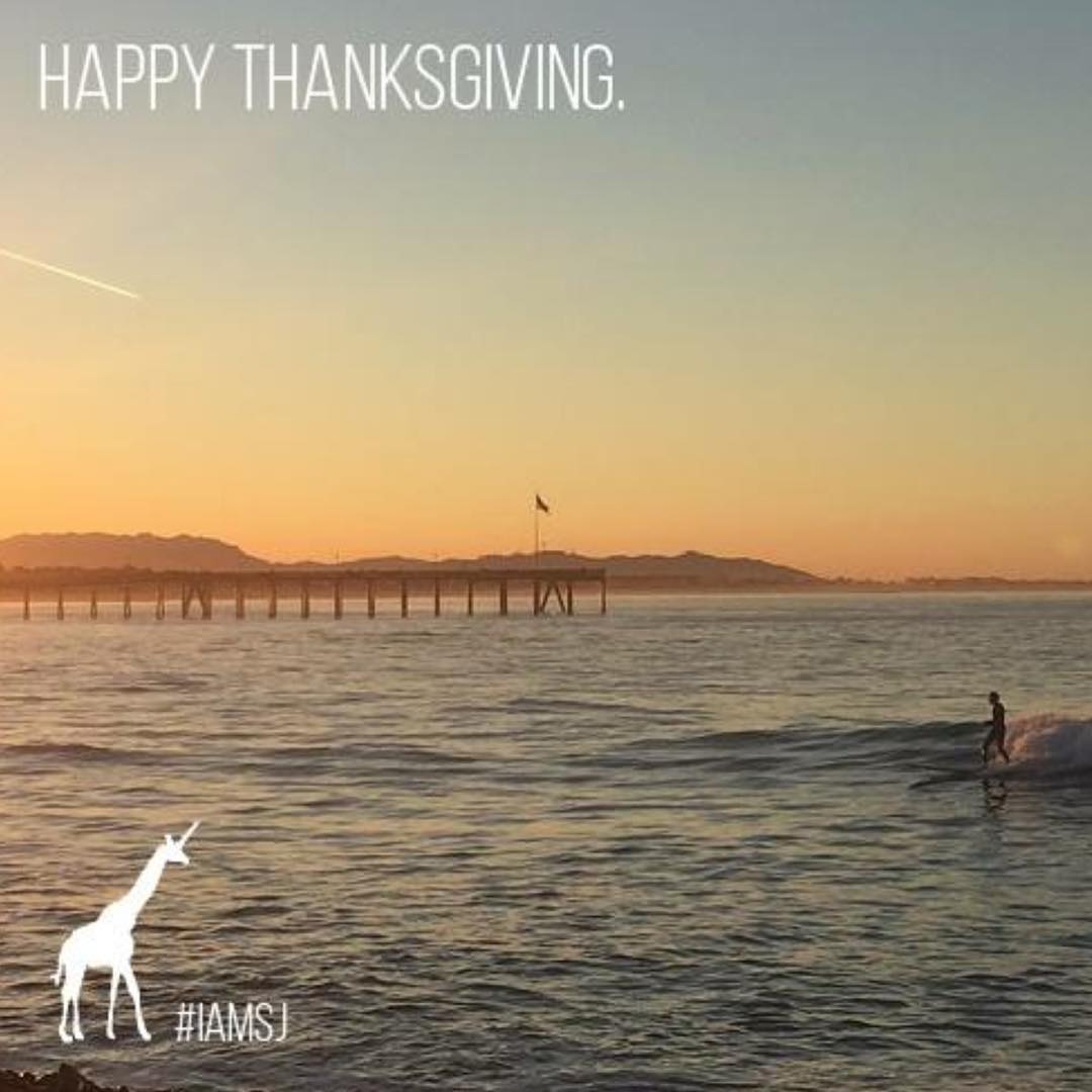 We are thankful for YOU, and our beautiful earth. Be grateful today. #shejumps