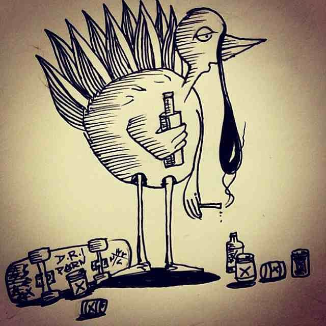 Happy Thanksgiving!  Artwork by Mexsk8; find more of his work at mexsk8.tumblr.com!  #mexsk8 #bonzing