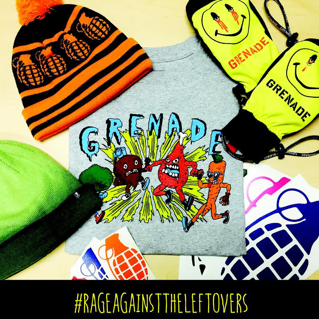 #grenadesgiving is here!! Tell us what you're thankful for in the comments and we'll pick the best/funniest/most shred-tastic of them - winner will get this prize pack including our blazed and confused mitts, Pom beanie, and our...