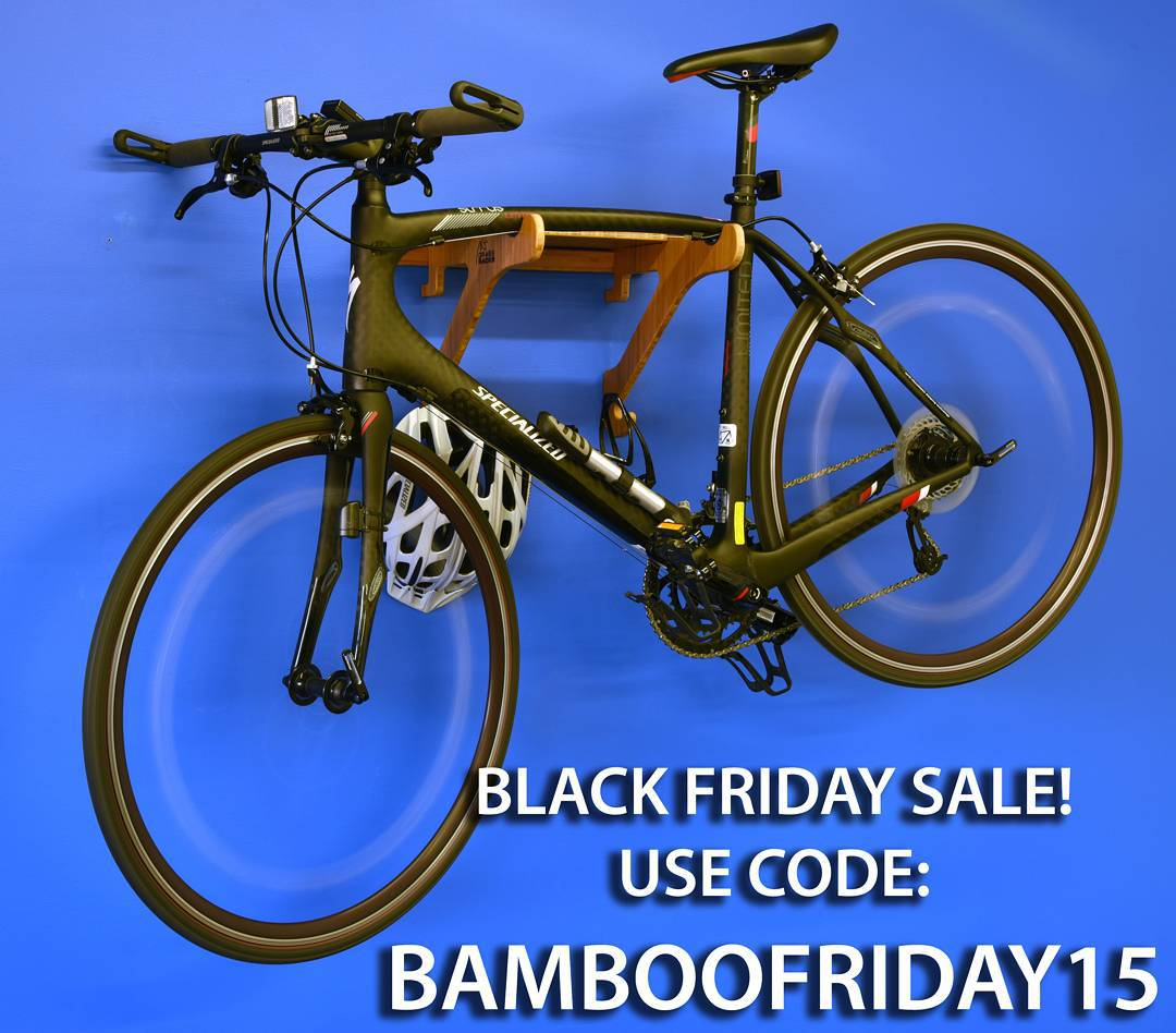 Happy Thanksgiving! Take a break from your friends and family and get ready to save 25% off your purchase on Black Friday with discount code: BAMBOOFRIDAY15!  #blackfriday #holidaygifts #christmas #Hanukkah #sale #bamboo #grassracks #thanksgiving #bike...
