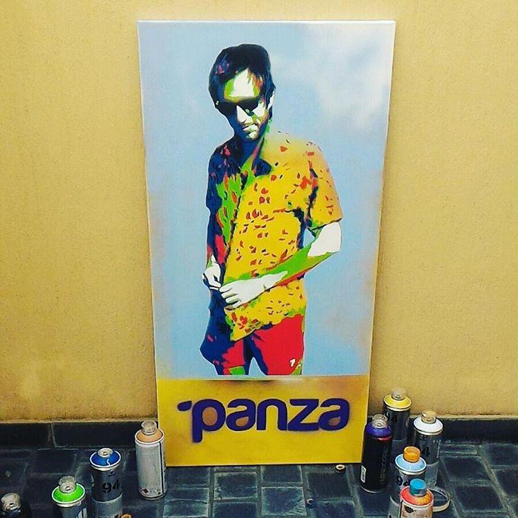 #concurso !!! Queres que @techin.stencils te haga un cuadro como este?  Subi una foto #metiendopanza este fin de semana largo y podes... El que suba la mejor foto se la lleva hecha cuadro y un panza. - - subi una foto  con hashtag #metiendopanza -...