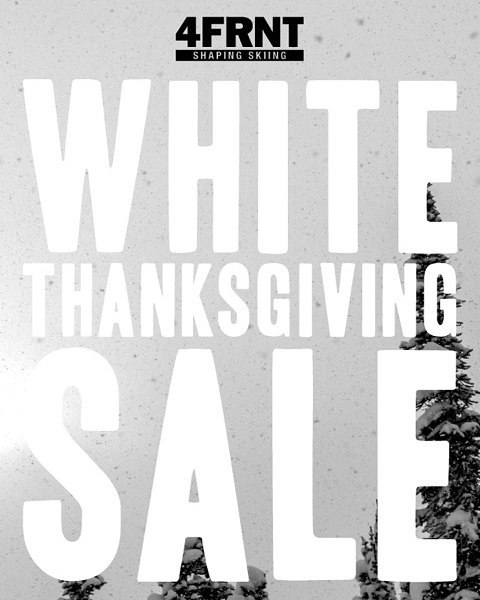 "Sale Starts Today !  Enter code ""GIVETHANKS"" to any adult ski + binding purchase and receive $179.99 off your entire order. Shop Now - Link in profile. Happy Thanksgiving! #happythanksgiving #shapingskiing #sale"