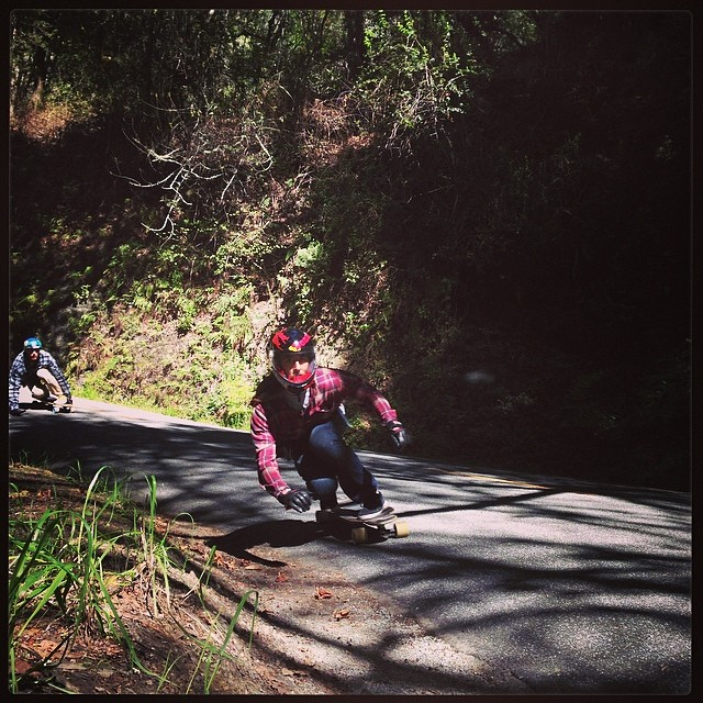 Out mobbing birthday runs for @adrian_da_kine and loving it! @radzani backing him up... #sunsetsliders #calibertrucks