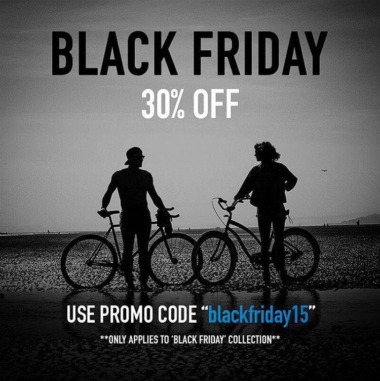 "#BlackFriday starts now right? Use the code ""blackfriday15"" to get 30% off on select items. Visit website for details. Happy #thanksgiving"