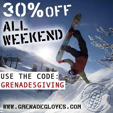 Get yours at grenadegloves.com! #grenadesgiving
