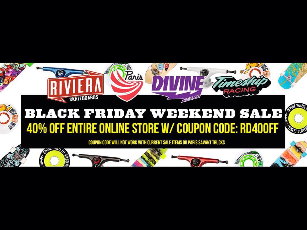 Get the deals! Click over to shop.resourcedist.com for Black Friday specials on all your favorite #thane! #divinewheelco #divinewheels