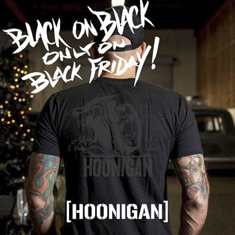 LOYALTY SQUAD: We made a limited supply of BLACK ON BLACK Creature of the Hoon tees exclusively for you guys. Get over to #hooniganDOTcom quick cause once they're gone, they're gone! Joining the Loyalty Squad is simple just login before you shop....