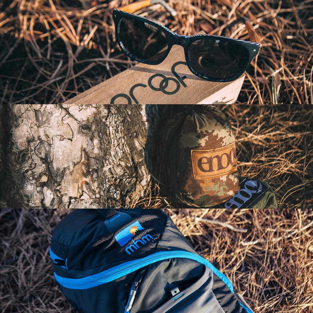 Last chance to win all of these goods for you and a friend! We'll be choosing the winner of the THANKSGIVEAWAY tonight! Thank you to all of you who participated and thank you to @enohammocks and @proofeyewear for joining in! Best of luck!!
