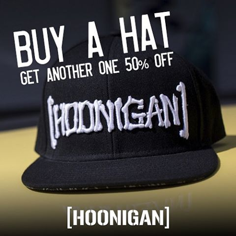 #HooniganBlackFriday rollin out the savings all day. Get over to our site and check out the rest of our rad deals (link in bio).