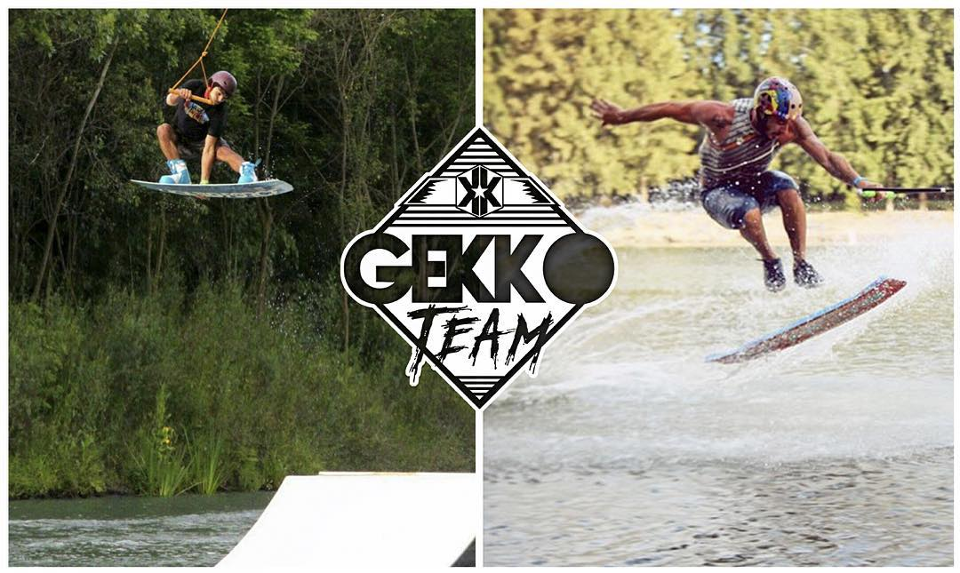Mañana dos amigos del team Gekko se presentan en el campeonato nacional de wakeboard que se realiza en el @thegreenparrotco Wake Beach! les deseamos lo mas alto y sobre todo que disfrutenn... ✌