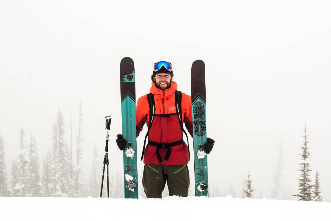 Master Shaper. Legend in the making. @eric_hjorleifson and his 4FRNT #Renegades are nearly synonymous. Ski powder faster, better, and have more fun than your friends. Be the Renegade. Ski the Renegade. #shapingskiing