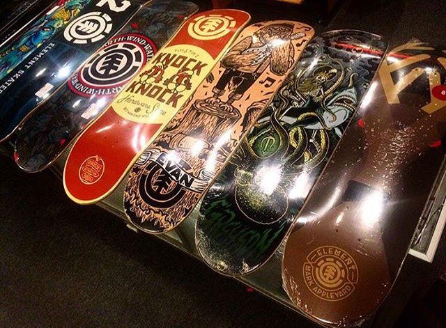 #supportyourlocalskateshop all through the holidays so they can keep your community thriving through the year! >>> @detroitcityskateboards Is one of many that just got a fresh batch of #elementskateboards in, thanks for the love!