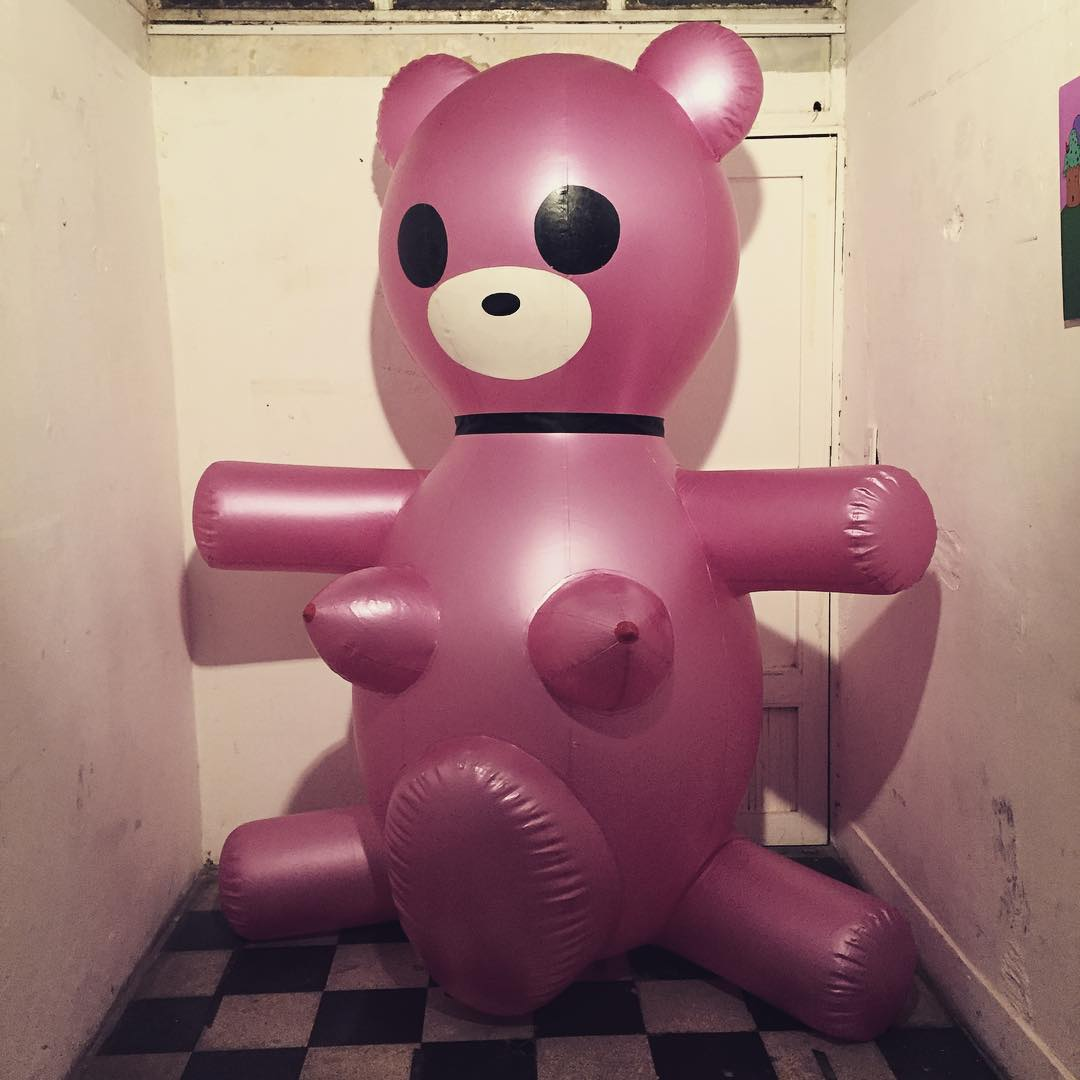 Abrazo de oso! #pink #air #darte