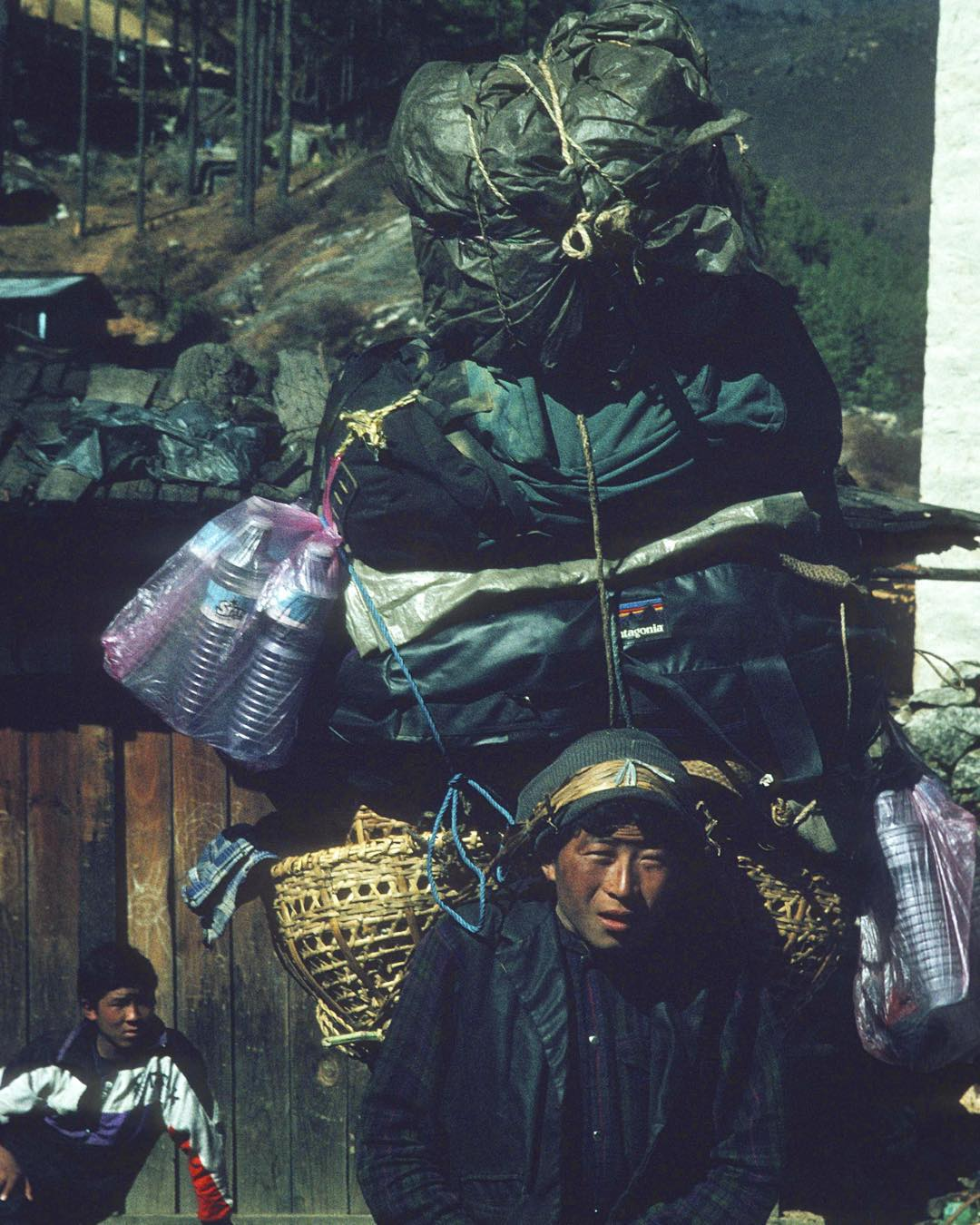 Thank goodness I got a Sherpa for all my #BlackFriday shopping!  Kidding! This was one of our Sherpas during our Mt Everest trek when I was 7 yrs old. To be honest I'm not a fan of the holiday buying frenzy - Sherpas in Nepal come from simple lives and...