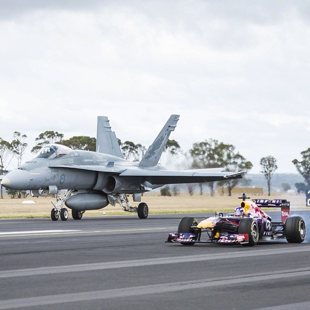 F1takes off down under this weekend. #f1 #redbullracing #raaf #australia #formula1