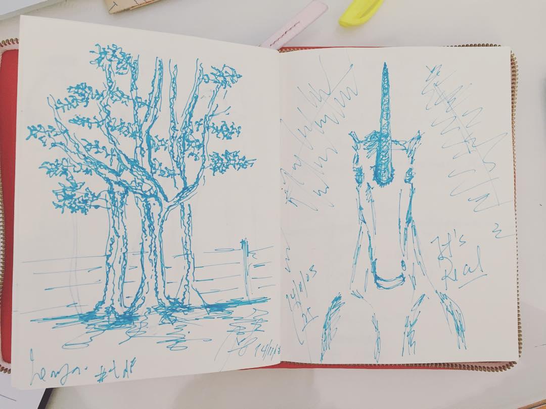 Me encontré un bosque y un unicornio! #darte #yosoydibago