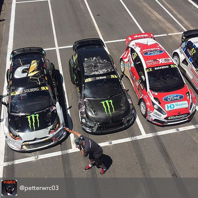 Repost from @petterwrc03 ........ Free practice is ongoing in Rosario, @rxargentina right now...