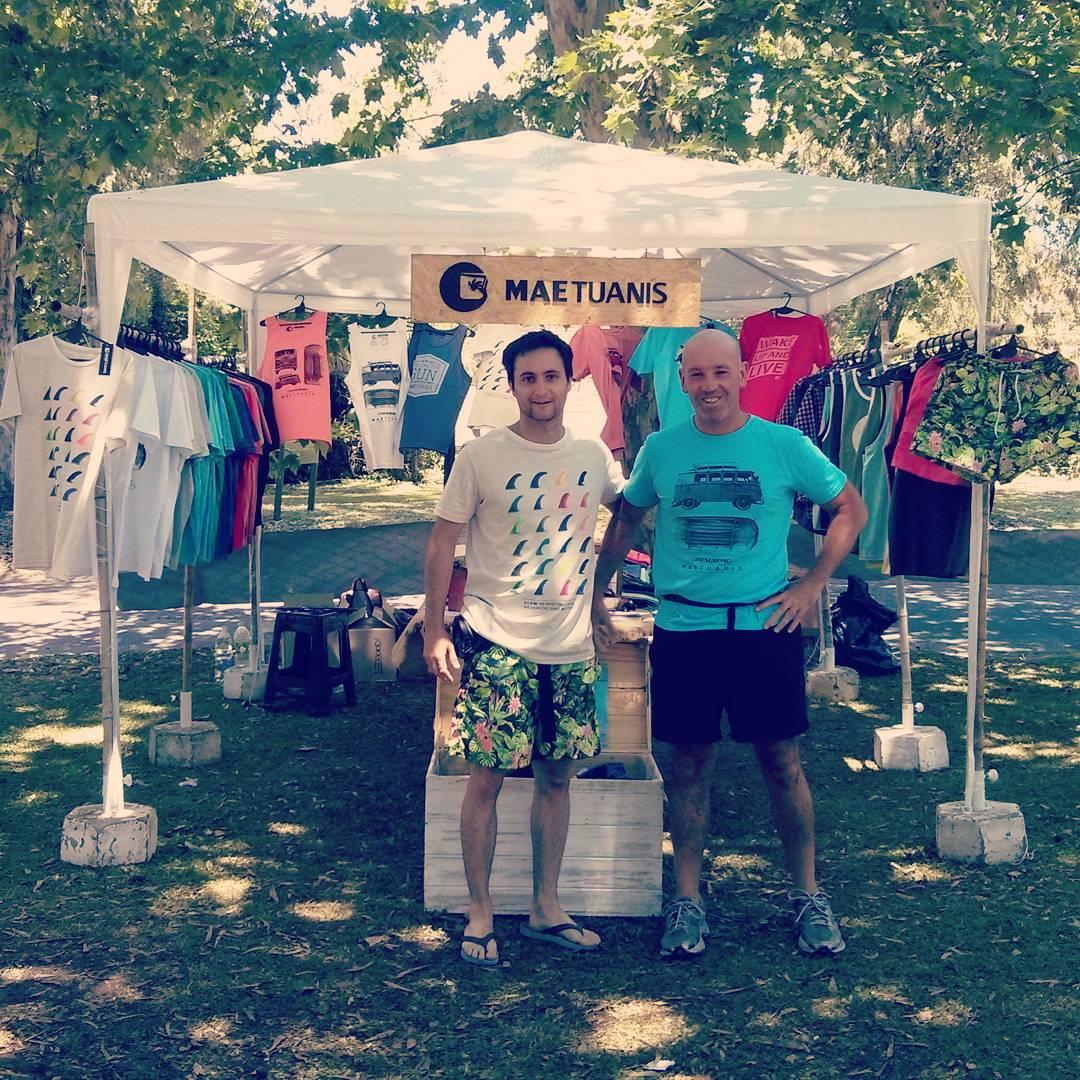 Feria el Talar de Pacheco.  Sábado y Domingo de 11 a 19hs. #maetuanis #followthesun #feria #surf #surfing