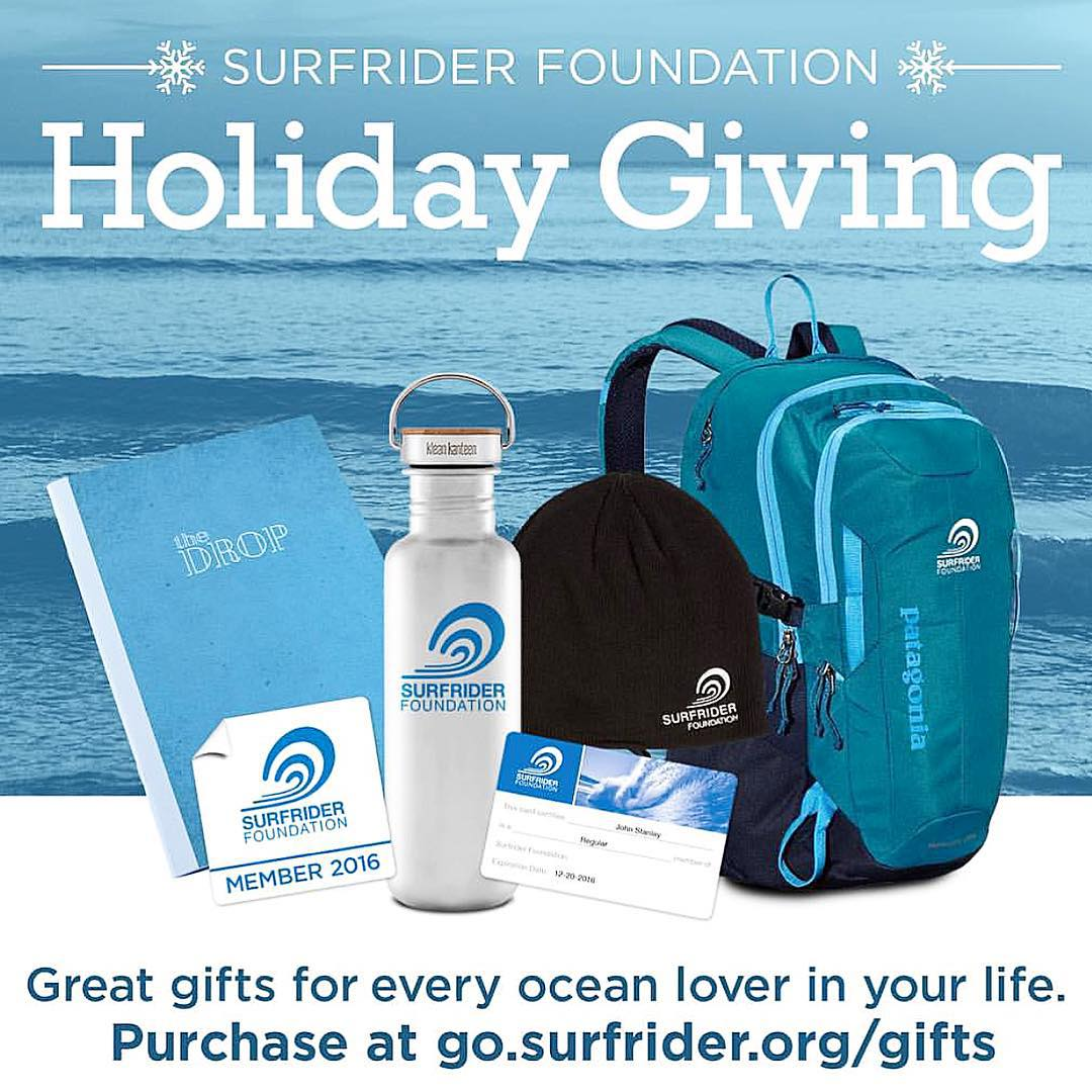 We got your gift giving covered. @surfrider