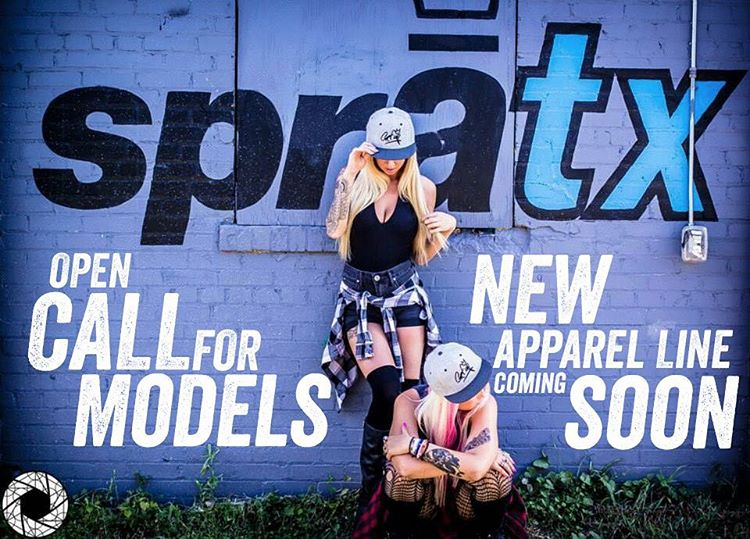 Attention Ladies & Gents!! • • Austin, TX!! We are on the search for some fresh faces for our next big photo shoot. We'll be launching our new Spratx apparel line during the grand opening of our new store in January, so stay tuned for sneak peaks....