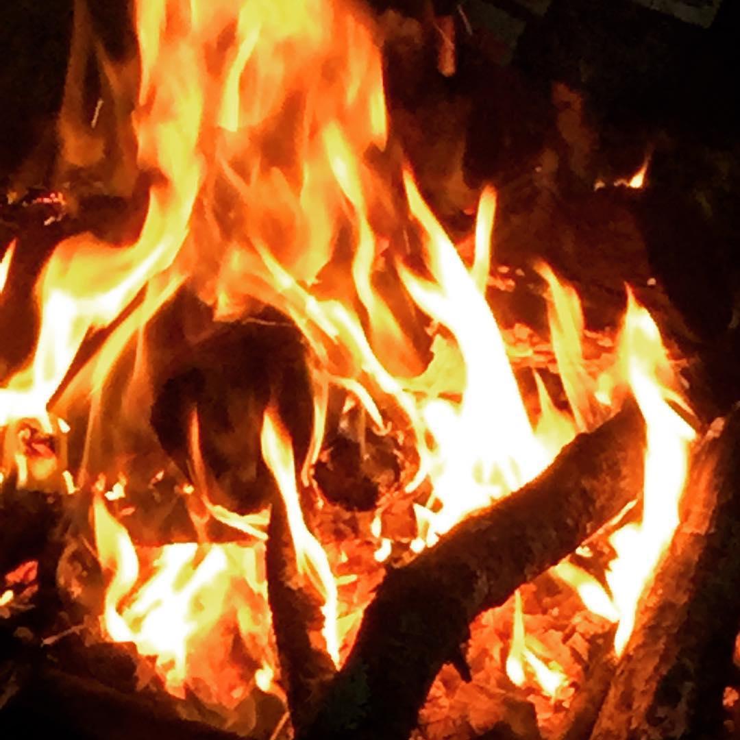 Inside! #fire