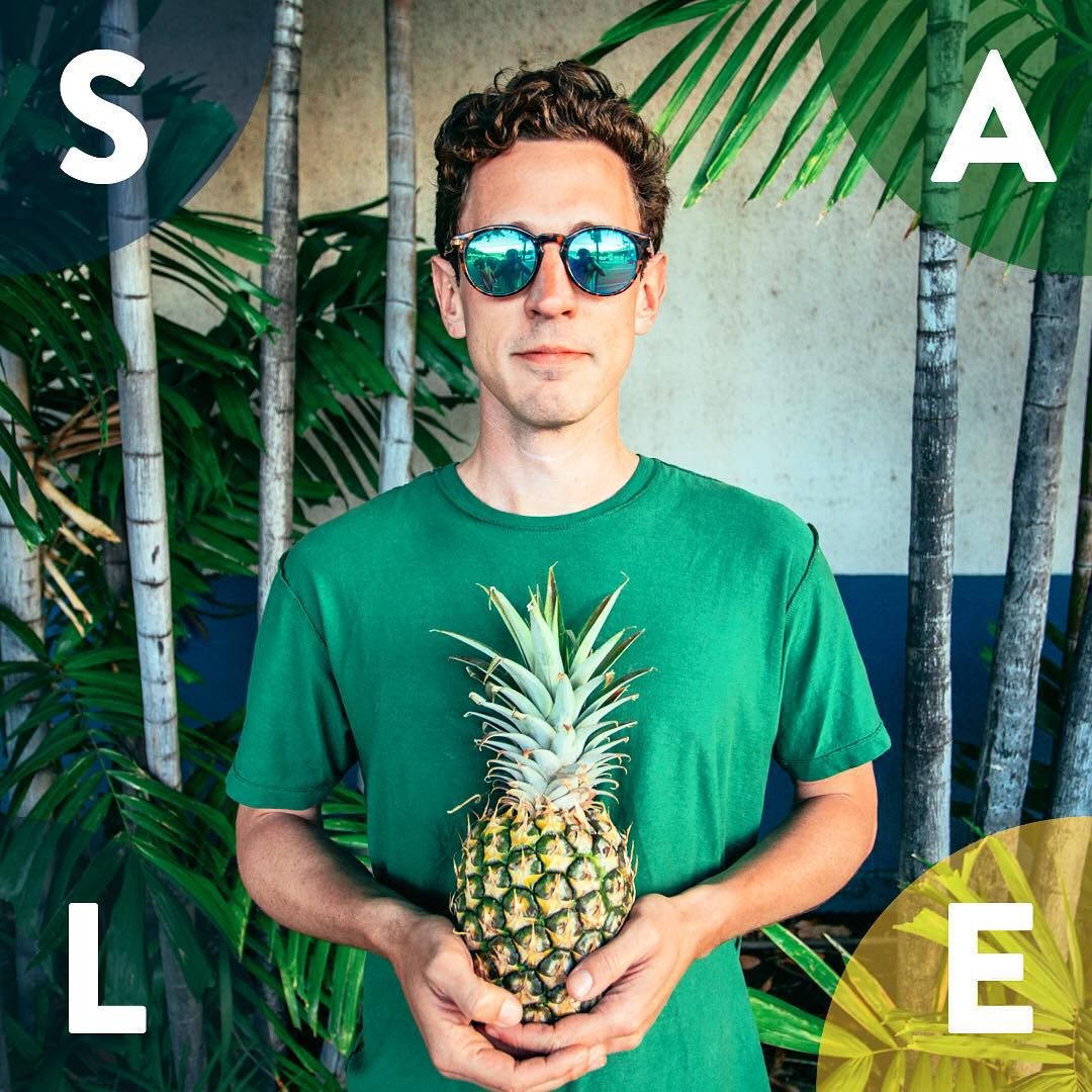 No, we're not selling pineapples... BUT you can snag up to 35% off shades online! Link in bio.