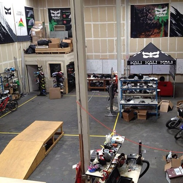 Ever wonder where your favorite Kali Protectives products are dreamed up? Here's a look into Brad Waldron's r&d area at Kali HQ! #kaliprotectives #kalipro #kali