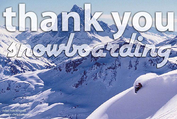 Feeling grateful.  #avalon7 #liveactivated #snowboarding #thankyousnowboarding Rider @robkingwill
