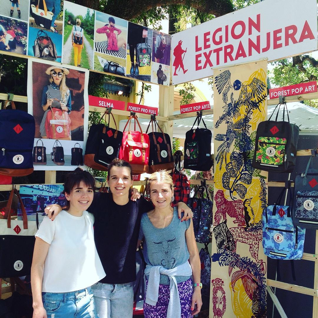 @legionextranjera meets you at TALAR PACHECO ! Last day today
