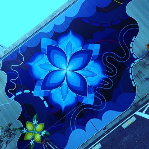 Tokyo #mural by #Sasu.