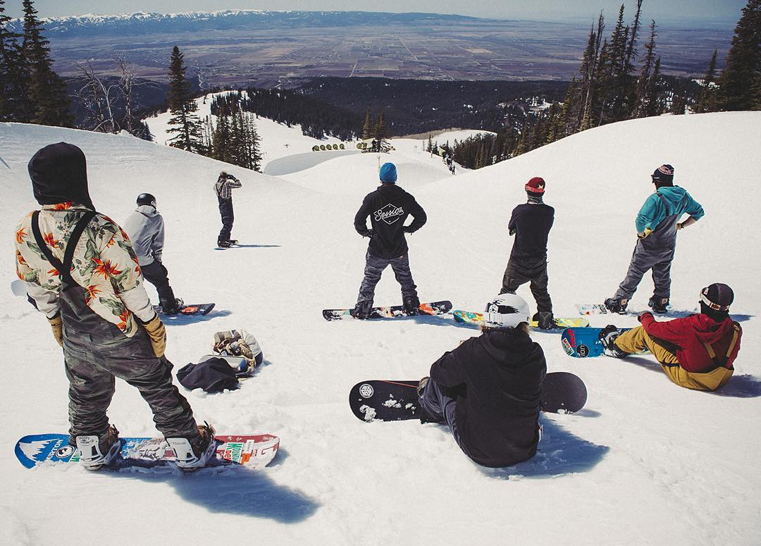 It's Sunday…  Get out and go shred with your squad!