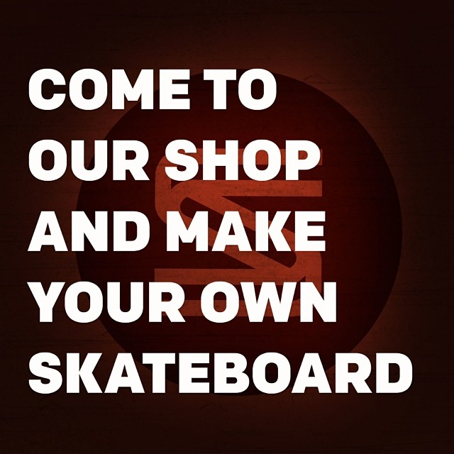On Saturday March 29, 2014 from 1:00PM - 4:00PM, come to our shop and make your own personal Salemtown skateboard. To sign up for the class, visit theskillery.com and grab a spot before they are all gone. This is your chance to be a part of Salemtown...