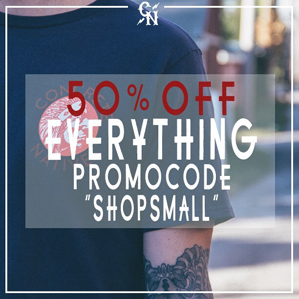 50% OFF EVERYTHING AT OUR ONLINE STORE! HEAD over to concretenative.com and get HALF OFF your ENTIRE order!!! #smallbizsat #blackfriday #cybermonday #sk8life #skatelife #skateboarding #longboard #longboardlife #deals #dealsondeals