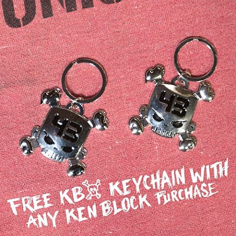 Head over to #hooniganDOTcom for your exclusive @kblock43 gear and get a free KB Skull keychain. While you're there check out our other rad deals and remember, FREE SHIPPING on all domestic orders! Thats like the price of a...