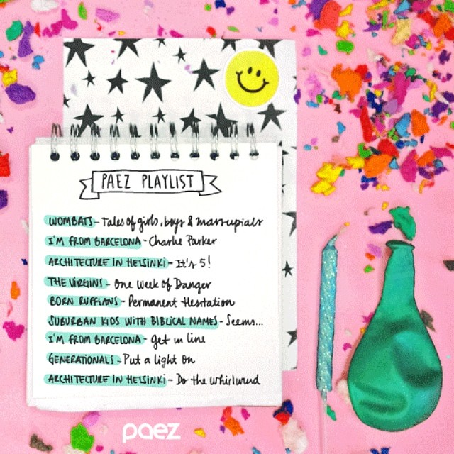 Let's celebrate!!! Relax and enjoy another year together with these cool tunes https://play.spotify.com/user/paezshoes/playlist/04mYQsdsv0jwBOQme5JybW  #WeMusic #PaezMusic #Spotify #Playlist #PaezBday