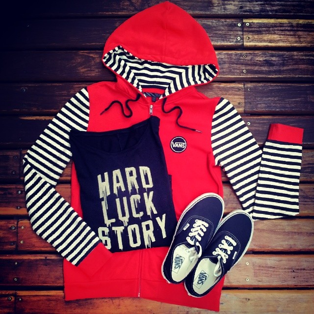 HARD Luck STORY #culturavans #apparel #outfitvans