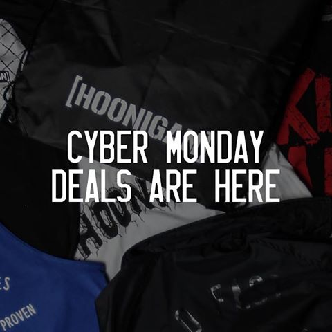Last day to scoop up some rad deals and FREE SHIPPING on #hooniganDOTcom. Click the link in our bio and head to the Cyber Monday Deals section!