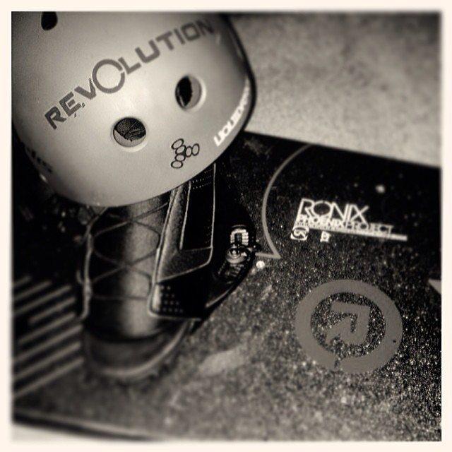 Rev balance sticker always looks good on your gear!  #revbalance #findyourbalance #balanceboards #madeinusa