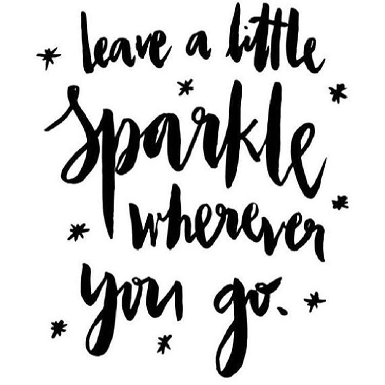 #mondaymantra #sparkle #shineon