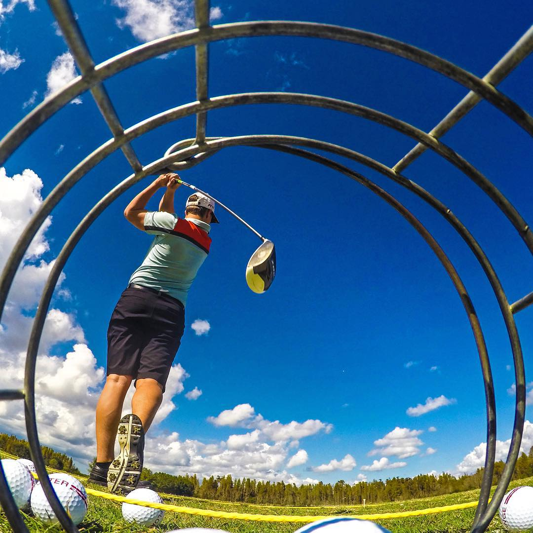 "@codygrc says ""The harder you practice the luckier you get."" GoPro HERO4 