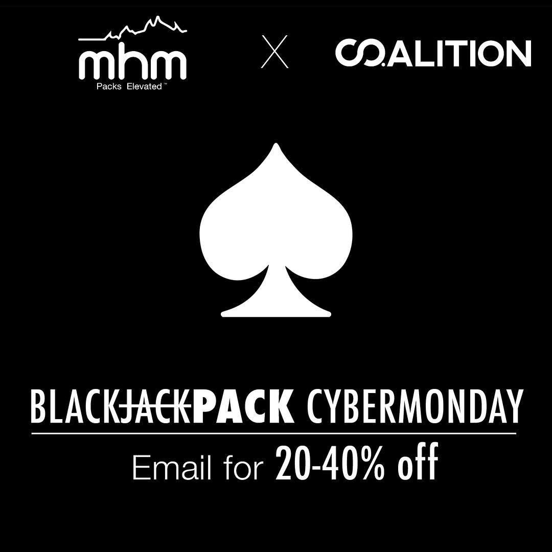Last chance for up to 40% OFF @mhmgear and @co.alition packs! Email doubledown@denverdesign.co for a code good for 20-40% OFF. Act fast as all codes expire at 11:59 tonight and only 52 codes will be processed! Once you purchase a pack (doesn't apply to...